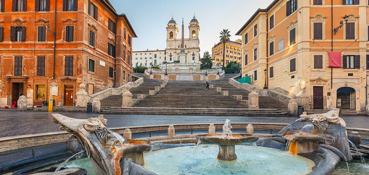 Picture of The Spanish Steps during a Rome City Tour
