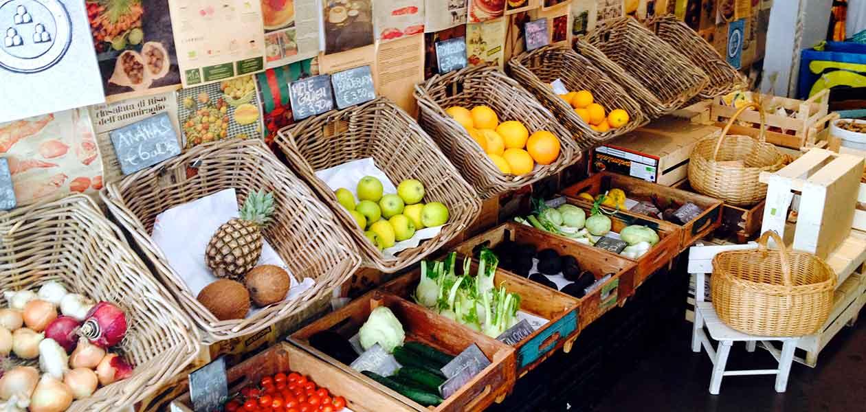 Organic Veggie Food Tour Rome